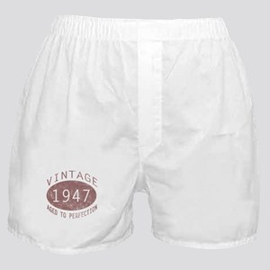 1947 Vintage (Red) Boxer Shorts