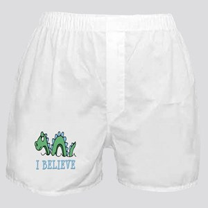 I Believe in Sea Monsters Boxer Shorts