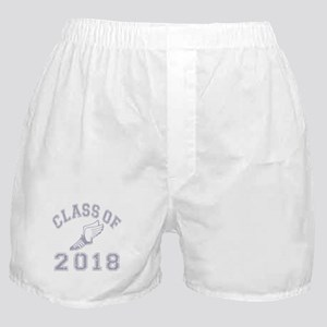 Class Of 2018 Track & Field Boxer Shorts