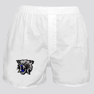 Cat Head Boxer Shorts