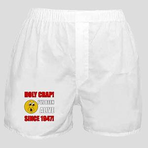 Hilarious 1947 Gag Gift Boxer Shorts