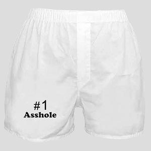 NR 1 ASSHOLE Boxer Shorts