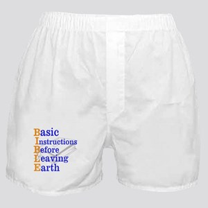 BIBLE Boxer Shorts