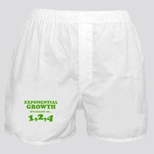 Exponential Growth Boxer Shorts