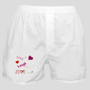 live laugh love Boxer Shorts
