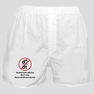 Never drink and derive Boxer Shorts
