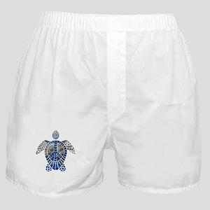 Sea Turtle Peace Boxer Shorts