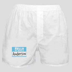 Personalized Name Tag Boxer Shorts