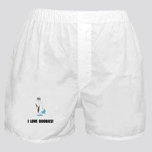 Love Boobies Boxer Shorts