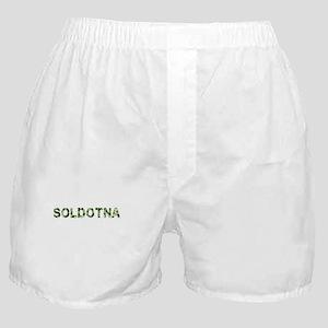Soldotna, Vintage Camo, Boxer Shorts