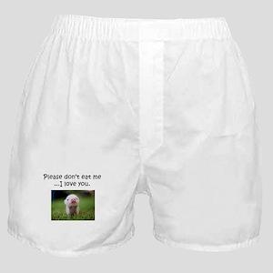 Dont Eat Me Boxer Shorts