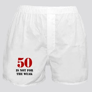 50th Birthday Gag Gift Boxer Shorts
