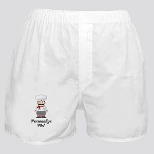 Personalized French Chef Boxer Shorts
