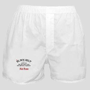 The Black Belt is Boxer Shorts