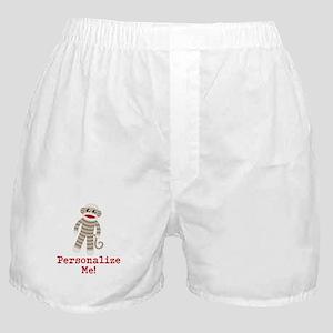 Classic Sock Monkey Boxer Shorts