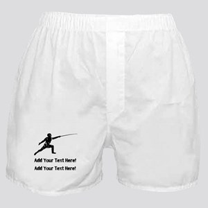 Personalize It, Fencing Boxer Shorts