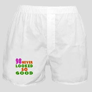 98 Birthday Designs Boxer Shorts