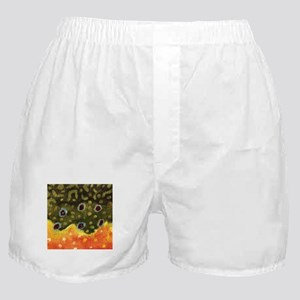 Trout Fly Fishing Boxer Shorts