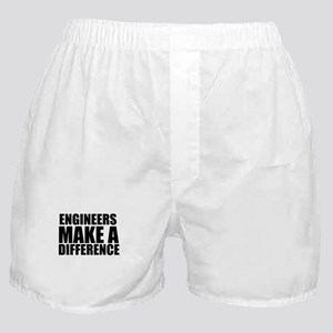 Engineers Make A Difference Boxer Shorts