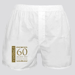 Fancy Vintage 60th Birthday Boxer Shorts