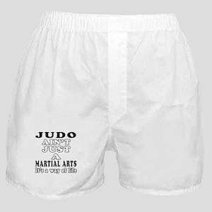 Judo Martial Arts Designs Boxer Shorts