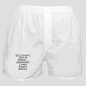 Talk to Myself Boxer Shorts