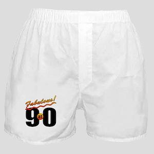 Fabulous At 90 Boxer Shorts