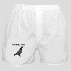 Custom Pigeon Boxer Shorts