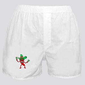 Pepper maracas sombrero sunglasses Boxer Shorts