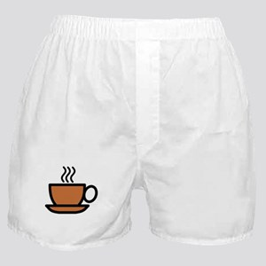 Hot Cup of Coffee Boxer Shorts