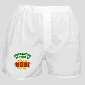 Celebrating Mom's 90th Birthday Boxer Shorts