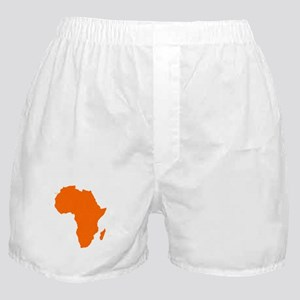 Continent of Africa Boxer Shorts