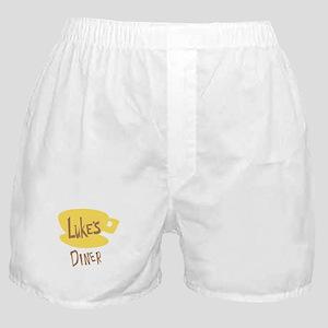 Lukes Diner Logo Boxer Shorts
