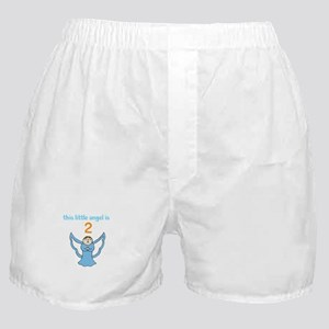 little angel custom age Boxer Shorts