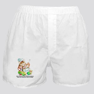Cajun Chef Cat Boxer Shorts