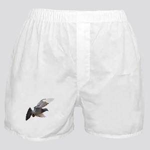 pigeon fly to love joy peace Boxer Shorts