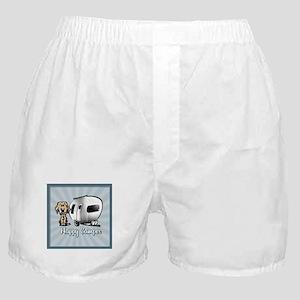 Happy Camper Dog Boxer Shorts