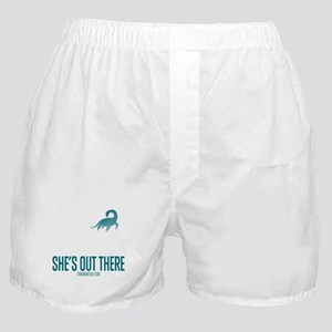 Loch Ness Monster - She's Out There Boxer Shorts