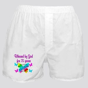 75 YR OLD ANGEL Boxer Shorts