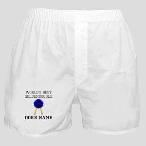 Worlds Best Goldendoodle (Custom) Boxer Shorts