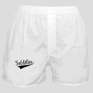 Soldotna, Retro, Boxer Shorts