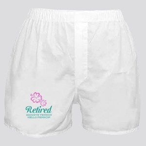 Funny retirement Boxer Shorts