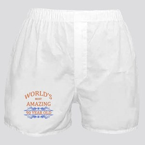 World's Most Amazing 90 Year Old Boxer Shorts