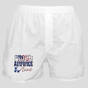 ProudAirForceAunt Boxer Shorts