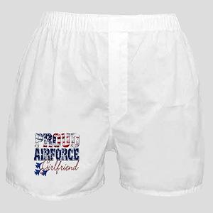 ProudAirForceGirlfriend Boxer Shorts