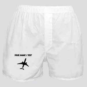 Custom Airplane Boxer Shorts
