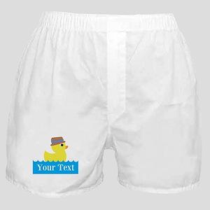 Personalizable Rubber Duck Boxer Shorts