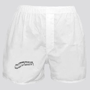 Old firemen never die Boxer Shorts