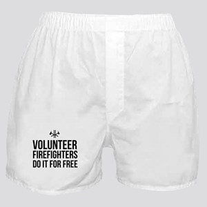 Volunteer firefighters free Boxer Shorts