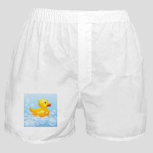 Duck in Bubbles Boxer Shorts